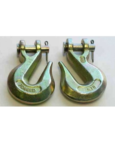 "G70 5/16"" Grab Hook with Clevis"