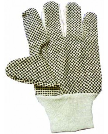Cotton PVC Dotted Palm 1