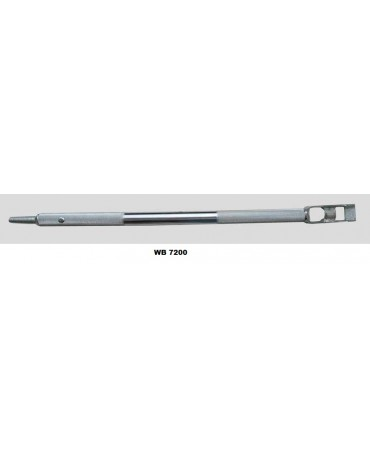 Combination Winch Bar - Chrome Plated