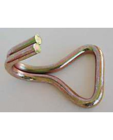 "2"" x 1/4"" Double J Wire Hook"