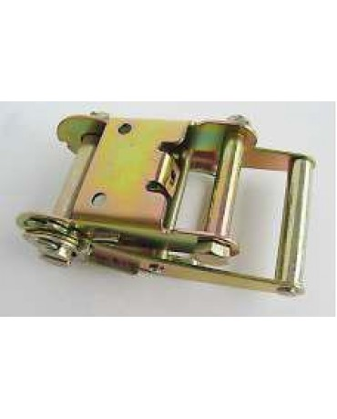 "2"" Ratchet Buckle with 2 Holes"
