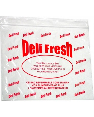 LDPE Reclosable Deli Bags